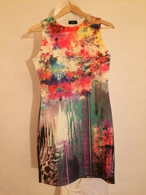 Dress multicolored synthetic