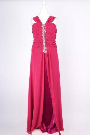 Özbas Ballkleid lang pink Größe 38