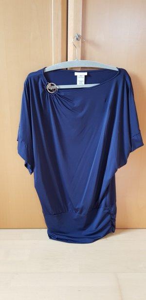 Michael Kors Camicia monospalla blu scuro