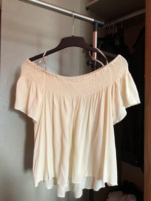 Forever 21 Off the shoulder top room-nude Rayon