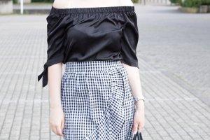H&M Blusa alla Carmen nero