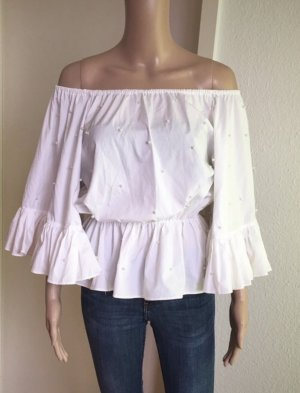 MAY Slip-over blouse wit