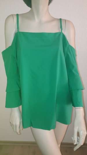 off shoulder Bluse, grün,*NEU*, Gr.XXXL