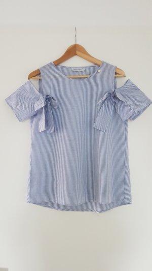 Off-Shoulder-Bluse mit Schleifen von RINASCIMENTO Gr. S