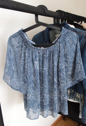 Off shoulder Bluse von Mango