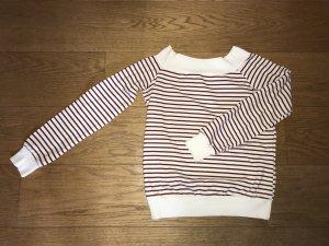 Off-shoulder Bretonshirt