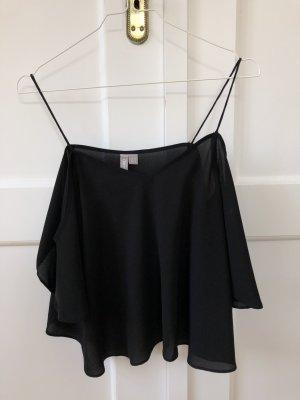 Off Shoulder Camisole mit dünnen Trägern