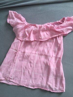 Tally Weijl Carmen blouse roze-lichtroze
