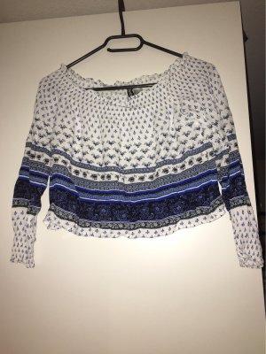H&M Divided Camicia cropped multicolore