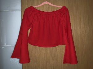 Nakd One Shoulder Top red-brick red