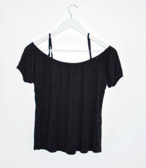 Only Cowl-Neck Shirt black