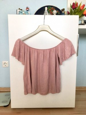 Off-Shoulder Top Rosé Urban Outfitters Light Before Dark