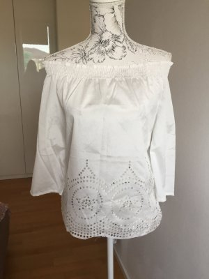 Off shoulder top weiß Gr 38 neu