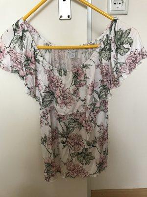 Amisu Carmen shirt wit