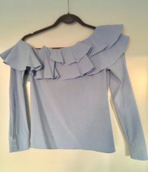 Off-the-shoulder Carmen-Bluse Longsleeve H&M Trend