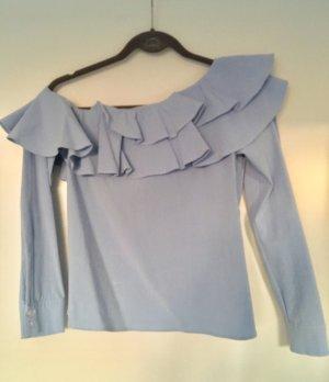 Off-the-shoulder Carmen-Bluse Longsleeve H&M Trend