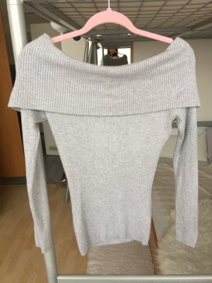 Orsay Knitted Top light grey-grey