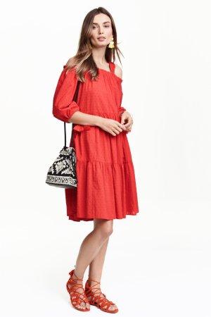 Off-the-shoulder summer dress