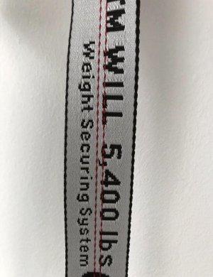 off white belt weiß/silber
