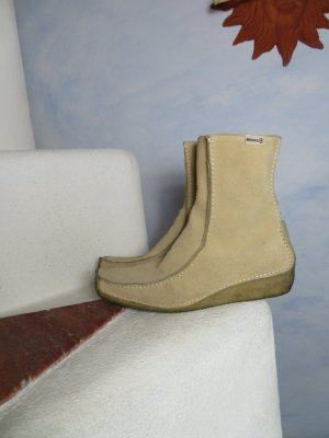 Off White Bronx Chelsea Stiefel aus Wildleder Mokassins 40 mit Latex Krepp Sohle