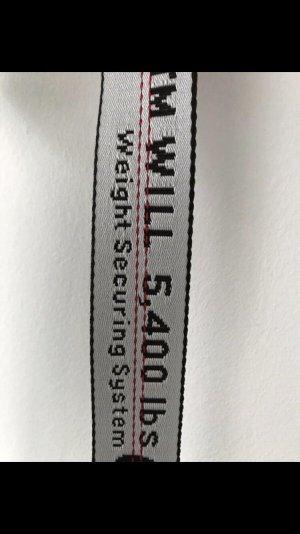 off white gürtel silber