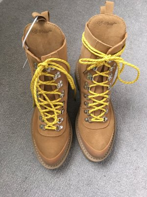 Off-White Hiking Boots - Schnurstiefel in Wildleder