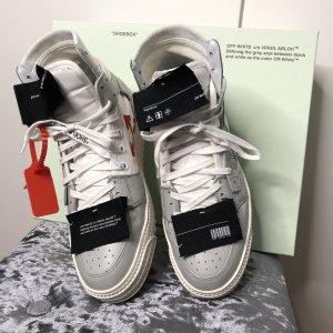 Off-White Sneaker stringata multicolore