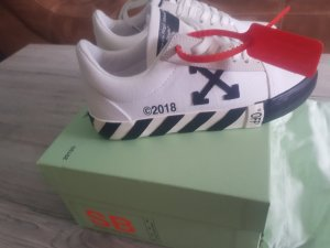 off white vans vulc original in 36/36.5 neu