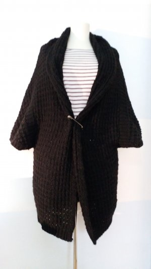 Expresso Coarse Knitted Jacket black