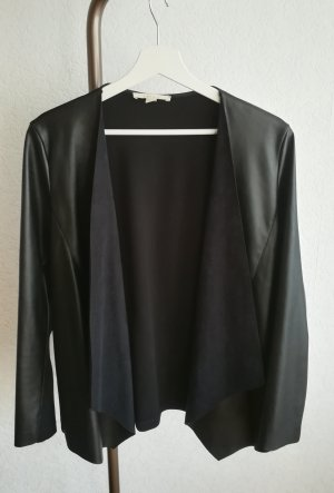 Esprit Leather Blazer black