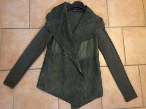 Orsay Leather Blazer khaki