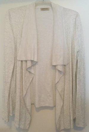 Offener Cardigan von der Marke Repeat in silber