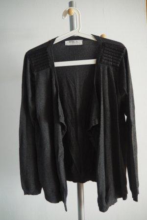 Vero Moda Knitted Cardigan dark grey