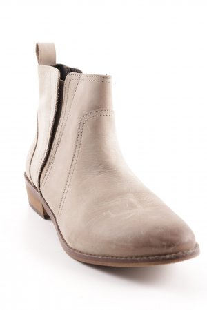 Office Ankle Boots beige simple style