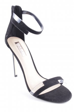 Office High Heel Sandal black elegant