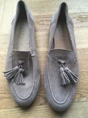 Office Leder loafers, Größe 39, jetzt bei office fuer 85 Euro (69gbp)
