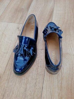 Office London College Lackleder Schuhe, Blau, Gr. 41 (40)