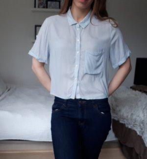 Bershka Camicia a maniche corte multicolore