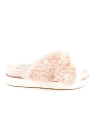 Office Platform Sandals pink-pink extravagant style