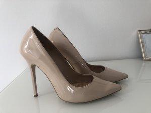 Office Puder nude high heels Pumps