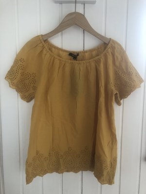 More & More Blouse Carmen jaune-ocre