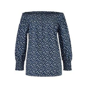 Offshoulder Bluse aus Baumwolle