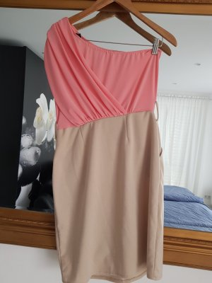 Pencil Dress natural white-light pink