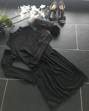 Sheinside Cut out jurk zwart