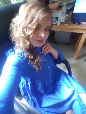 offshoulder Kleid von Mango gr. M