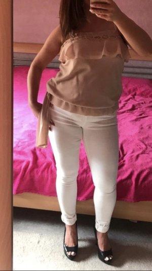Offshoulder Shirt von 3Suisses in nude neu