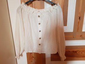 H&M Linen Blouse white