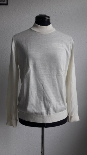 Samsøe & samsøe Pull en laine blanc cassé-blanc laine mérinos