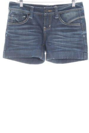 Oge & Co. Hot Pants dunkelblau Beach-Look