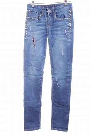 Oge & Co. Skinny Jeans blau Casual-Look
